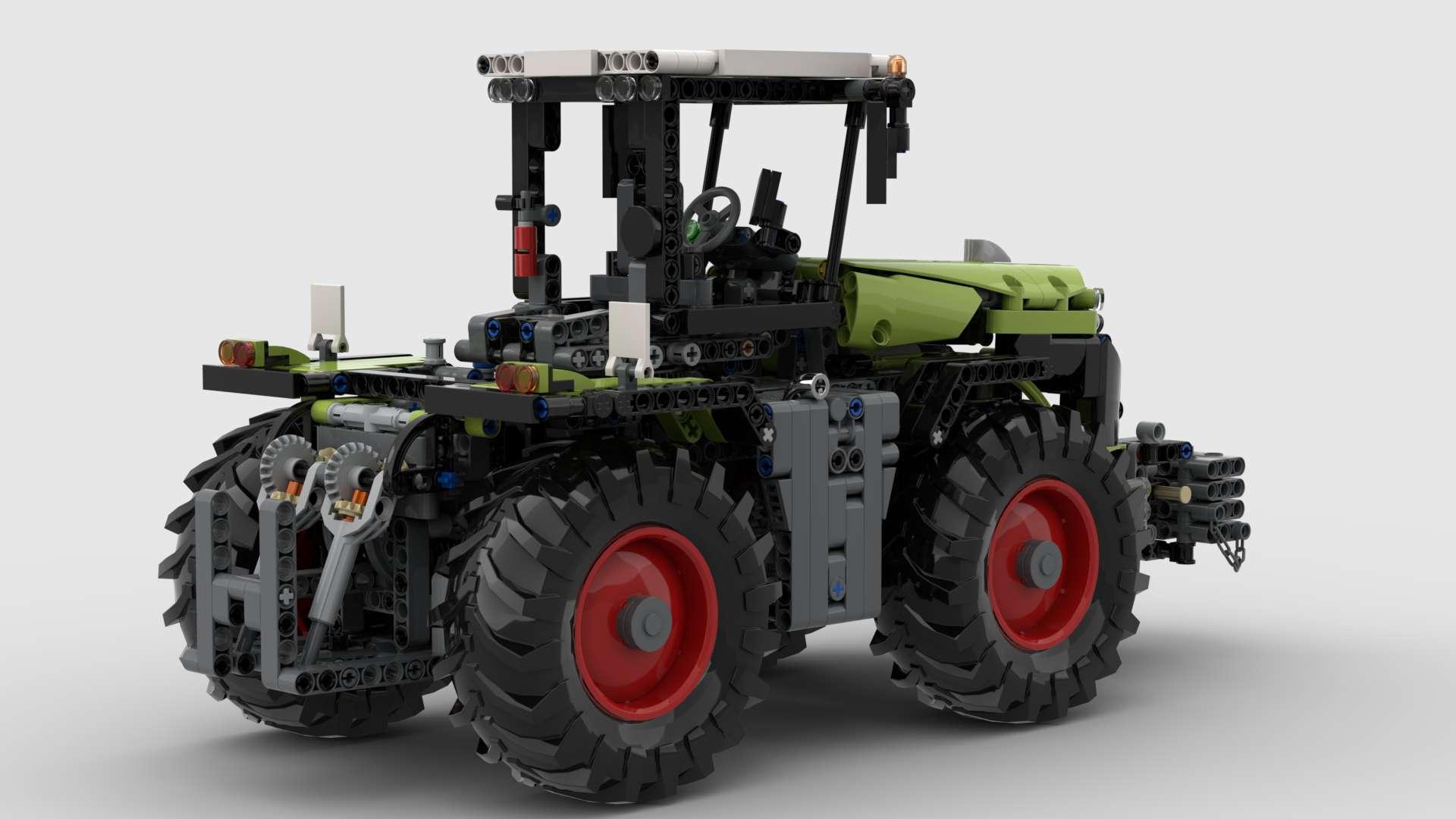 00 42054 Rc Original Xerion 5000 VC 7 Motoren MOD bilder