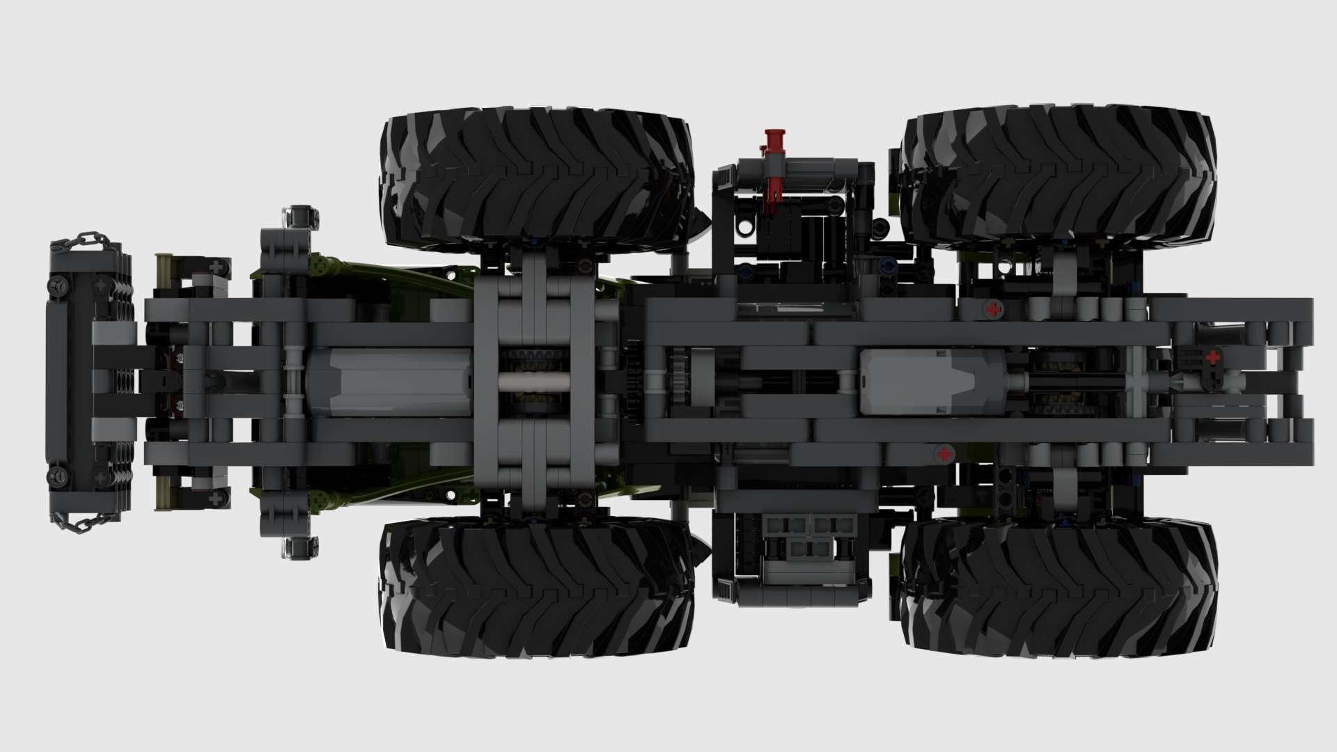 00 42054 Rc Original Xerion 5000 VC 7 Motoren MOD05