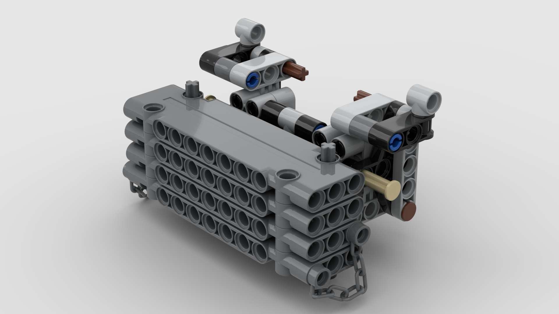00 42054 Rc Original Xerion 5000 VC 7 Motoren MOD06