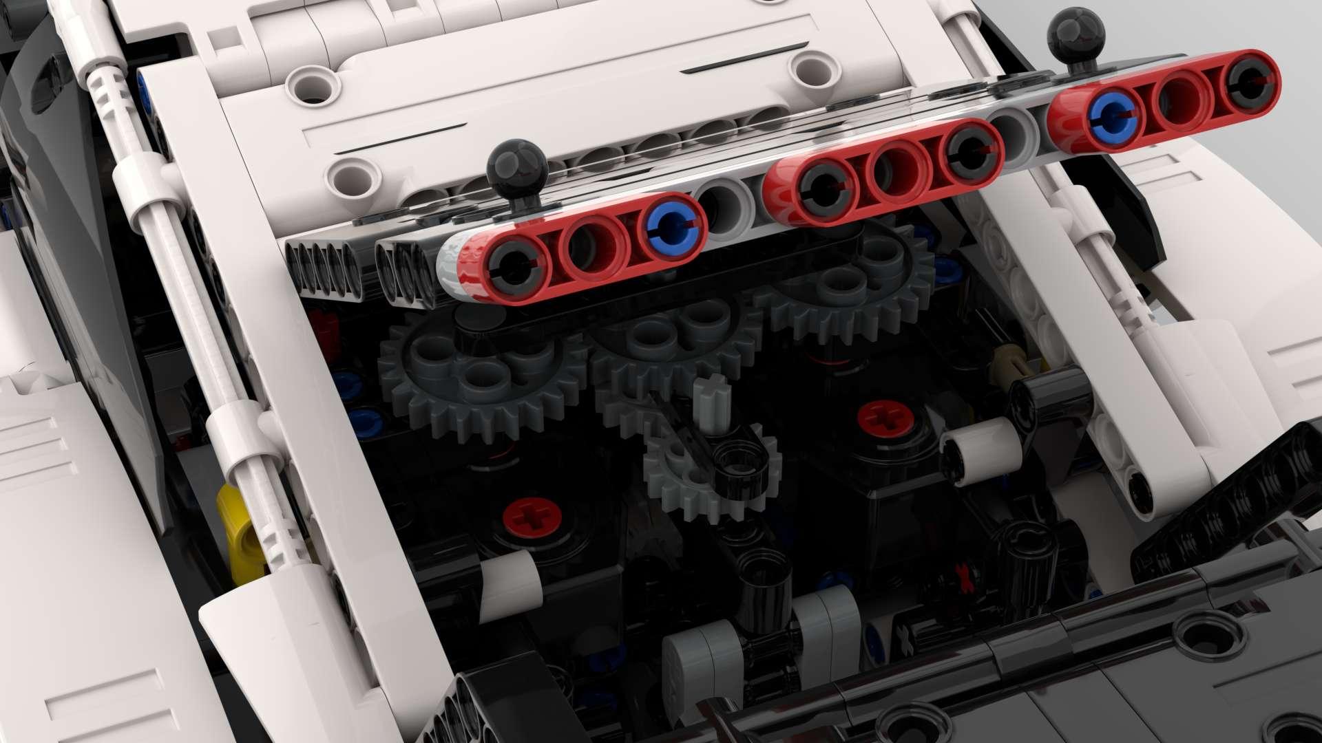 Porsche 911 rsr RC Umbau
