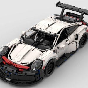 LEGO 42096-Porsche 911 RSR RC Umbau