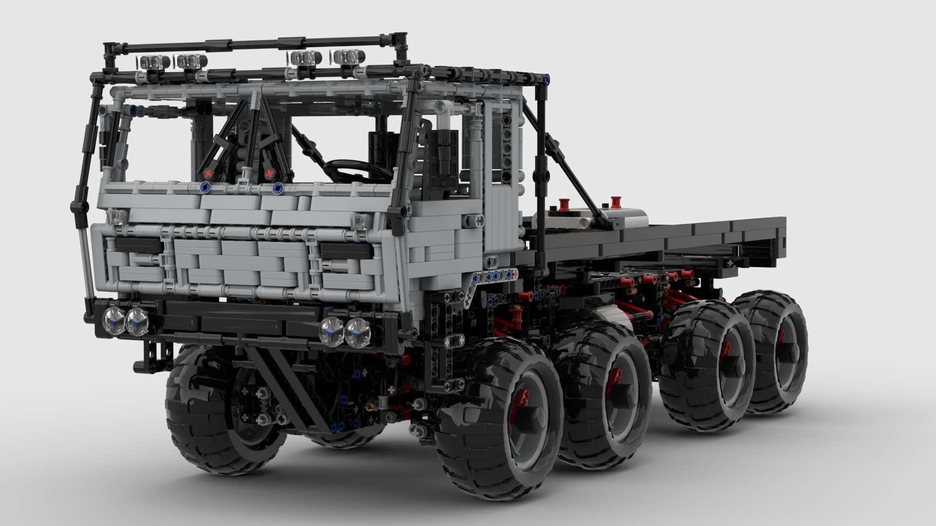 Tatra 813 Trail Truck MisterCreator