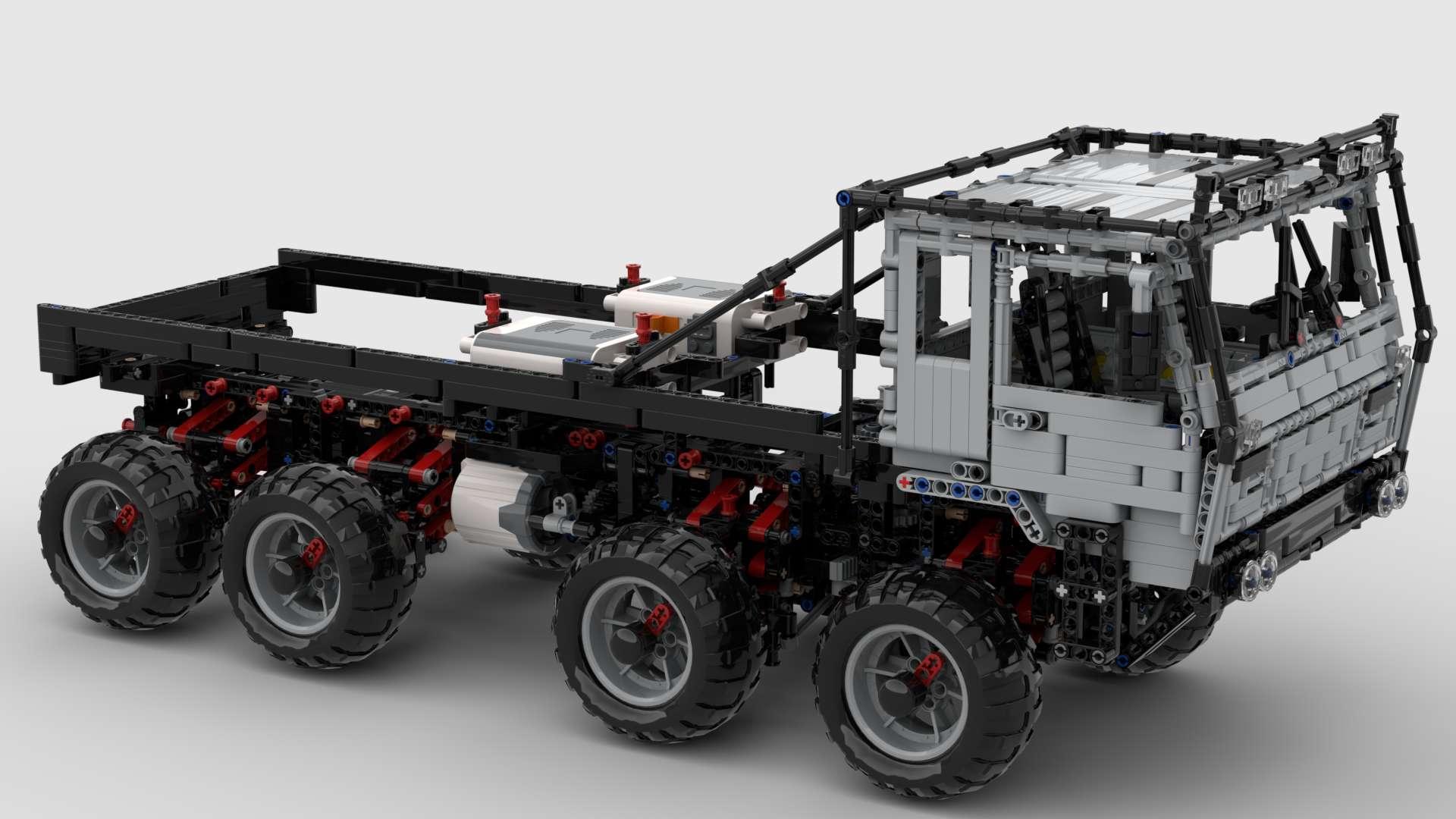 Tatra 813 Trail Truck MisterCreator01