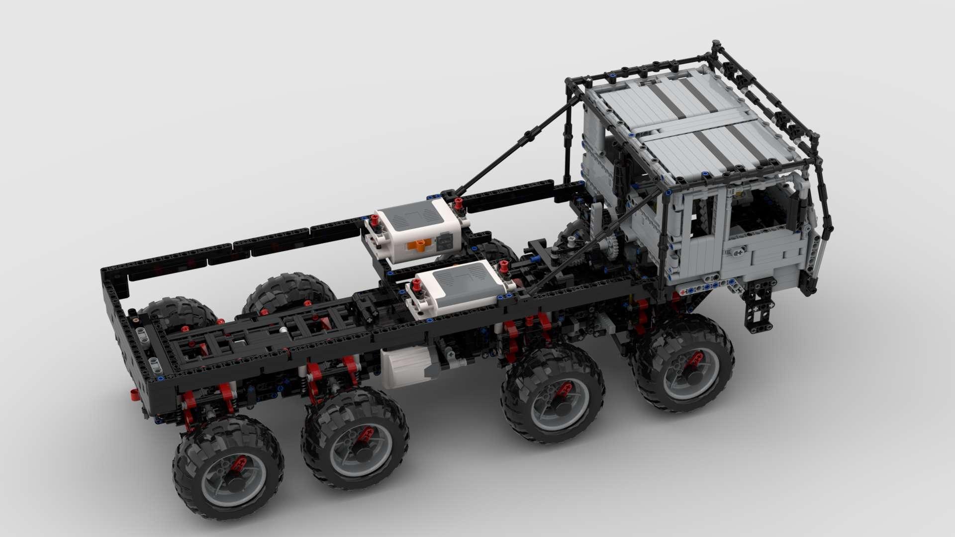 Tatra 813 Trail Truck MisterCreator02