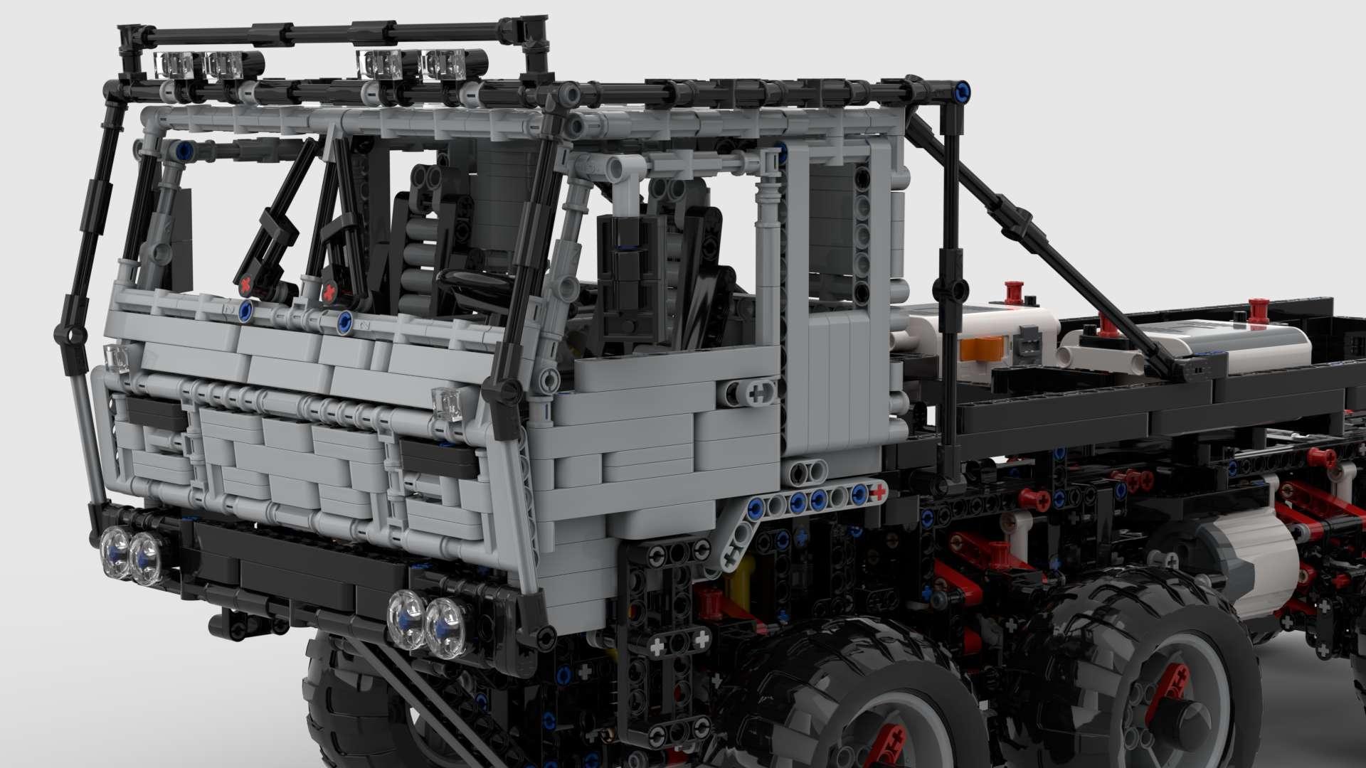 Tatra 813 Trail Truck MisterCreator03