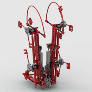Heuwender für 42054 Claas Xerion MKII/MKII+