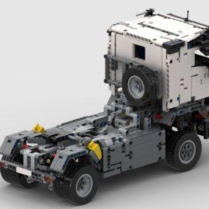 LEGO 42043 Mercedes Arocs RC Umbau