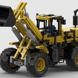 LEGO 8265 Frontlader RC Umbau