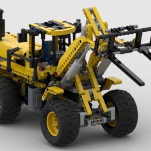 Paletten-Gabel für LEGO 8265 Frontlader