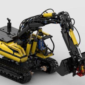 LEGO 8043 Ultimate Pneumatik Bagger
